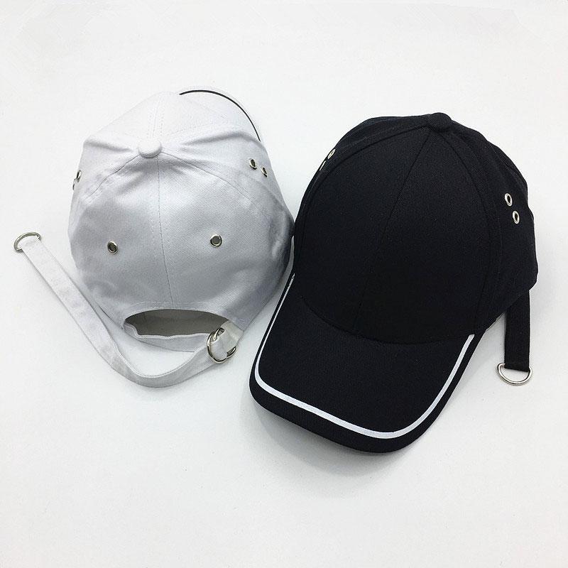 mũ lưỡi trai Garansi Classic trắng đen
