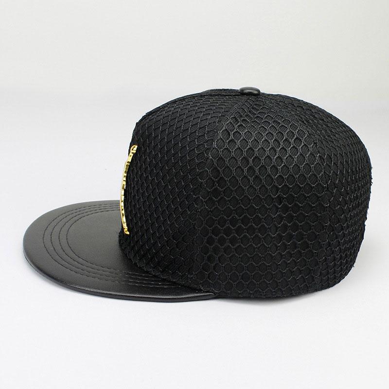 mũ lưỡi trai snapback jordan phối lưới màu đen