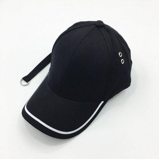 mũ lưỡi trai Garansi Classic đen