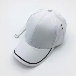 mũ lưỡi trai Garansi Classic trắng