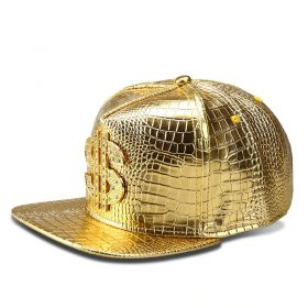 mũ kết Snapback Dollar Cap màu vàng