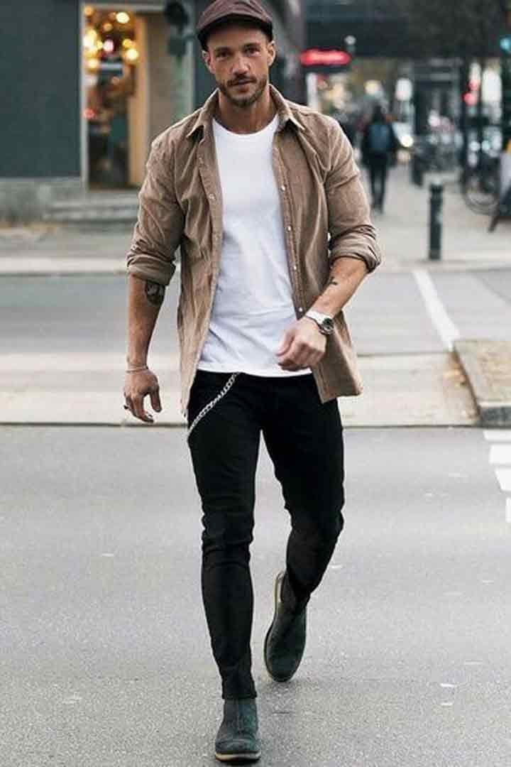 quần jean áo thun