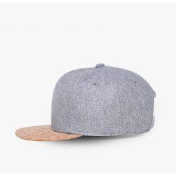 mũ snapback cork màu xám nhạt