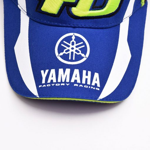 Mũ lưỡi trai motor Yamaha 46 xanh bích