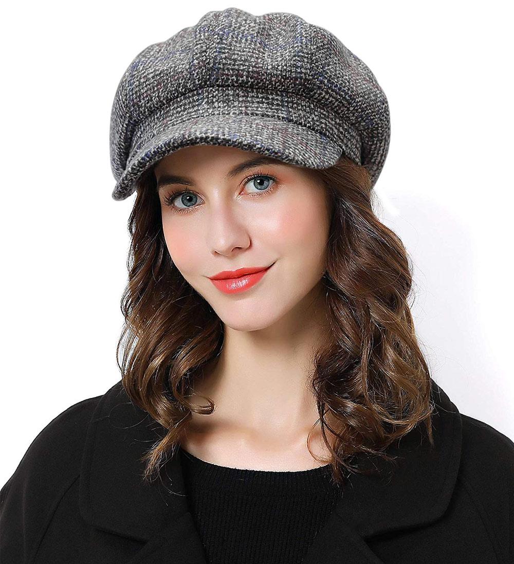 mũ beret nữ đẹp