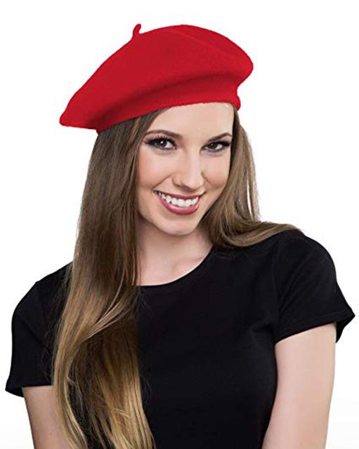 tóc dài với mũ