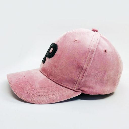 mũ lưỡi trai Velvet Pink màu hồng