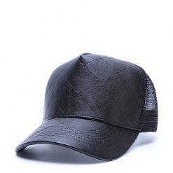 mũ lưỡi trai lưới Street Peak đen