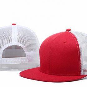 mũ snapback lưới đỏ trắng