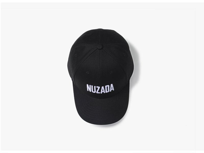 mũ lưỡi trai nuzada cap đen
