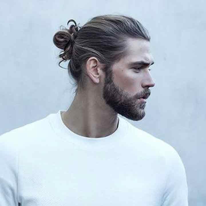 kiểu tóc man bun