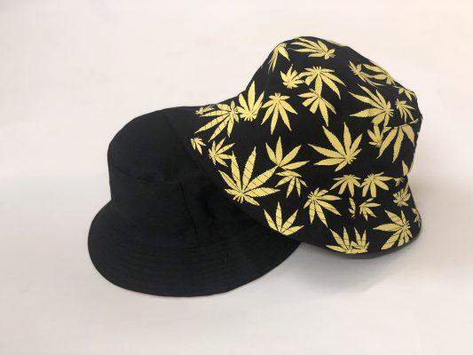 mũ bucket lá vàng