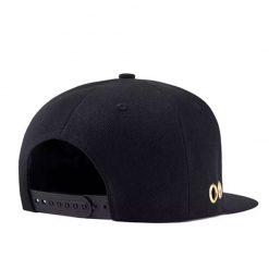 mũ snapback Metal Ring màu đen