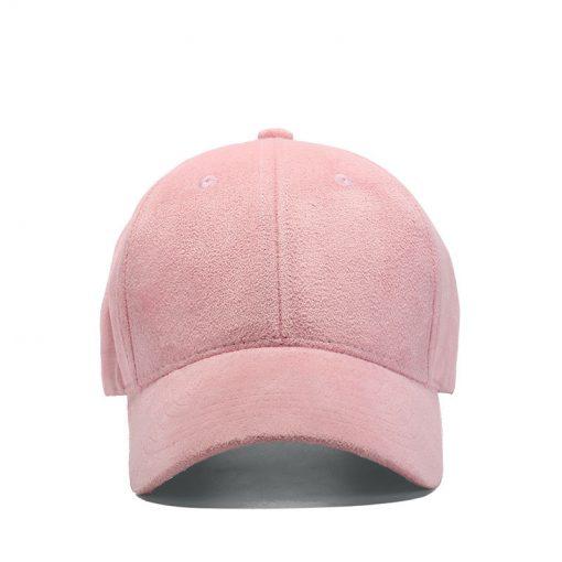 mũ lưỡi trai nhung Rich Maroon màu hồng