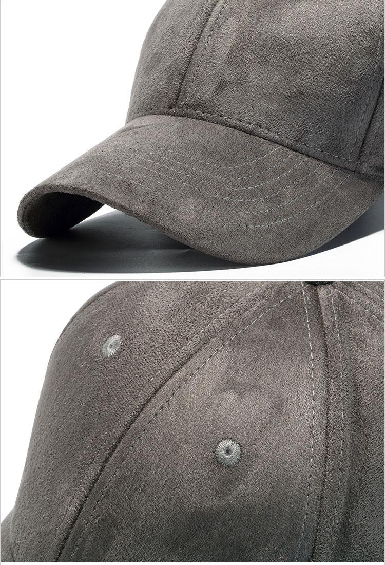 mũ lưỡi trai nhung Rich Maroon màu xám