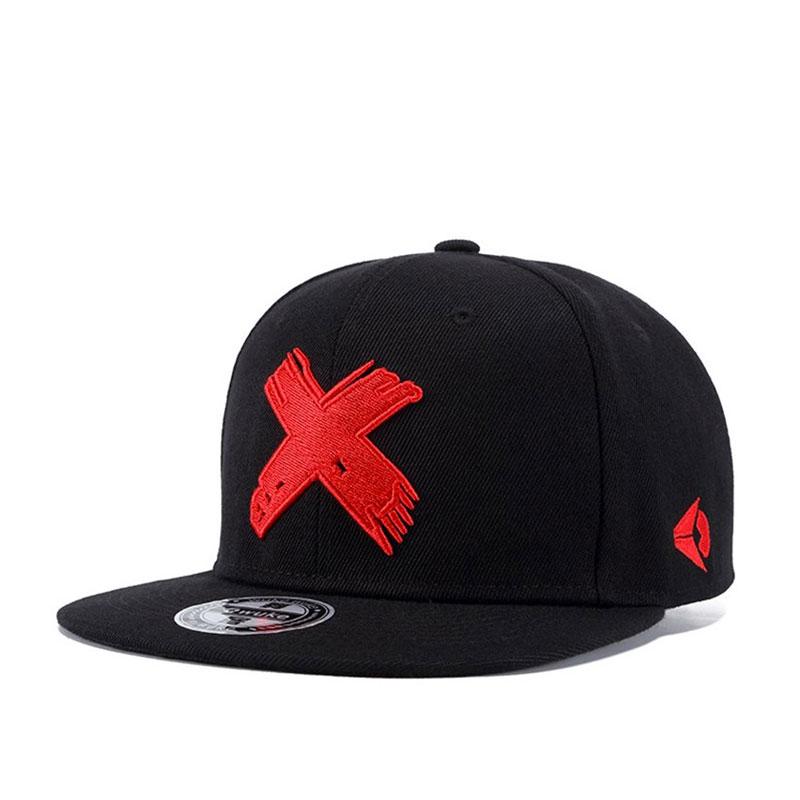 mũ snapback Wild Flat logo đỏ