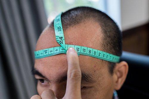 Cách đo mũ hiểm đúng cách