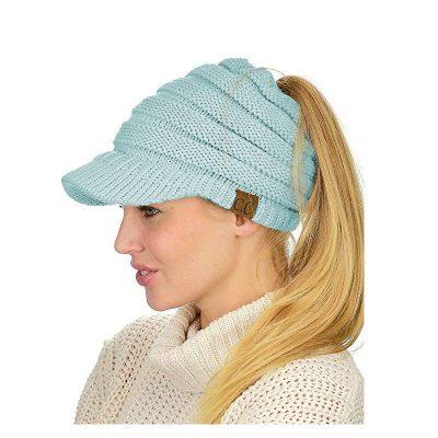 mũ len beret nữ Hya Mint màu xanh ngọc