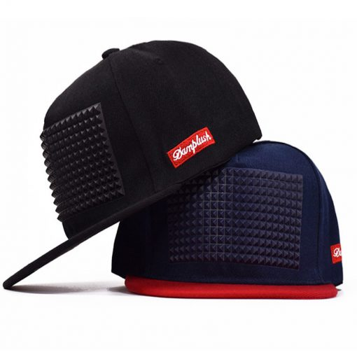 mũ snapback phù hợp nam nữ musium màu đen xanh