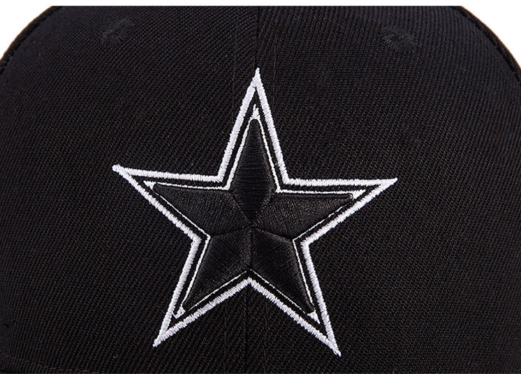 chi tiết mũ snapback star tide nam nữ thêu ngôi sao