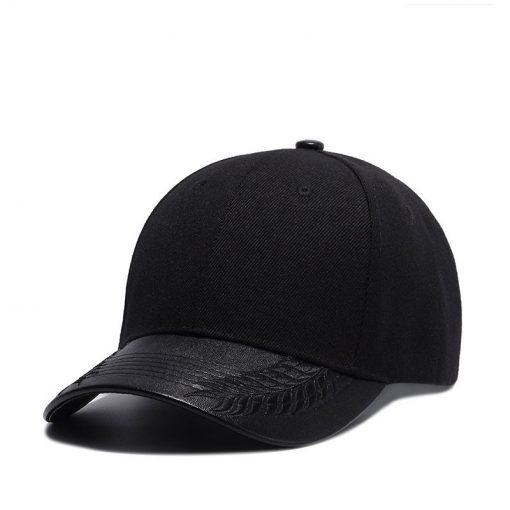 mũ lưỡi trai đen wheat printed
