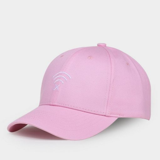 mũ lưỡi trai wifi caps hồng