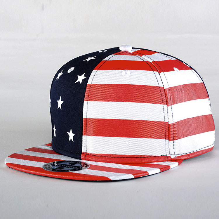 mũ snapback the USA flag