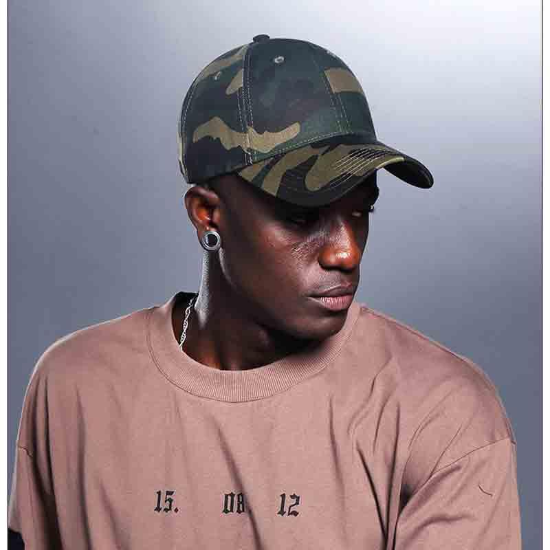 mũ lưỡi trai rằn ri Camo Military nam