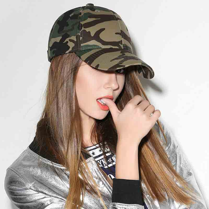 mũ lưỡi trai rằn ri Camo Military nam nữ