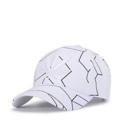 mũ lưỡi trai white leaf trắng