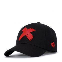 mũ lưỡi trai wild flat x đỏ