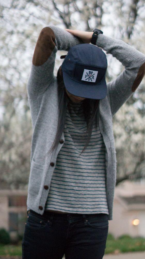 Áo khoác blazer mũ snapback