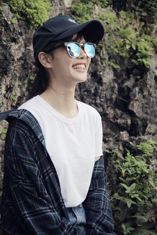mũ lưỡi trai Kim Yoo Jung