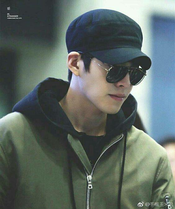 Mũ lưỡi trai kim-woo-bin