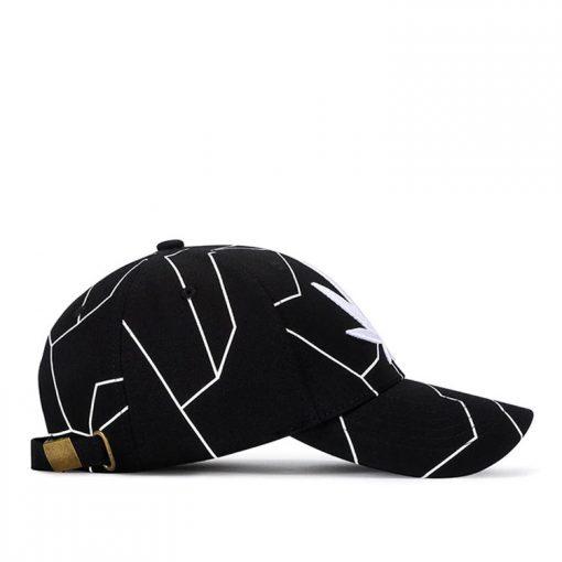 mũ lưỡi trai đen nam nữ black left
