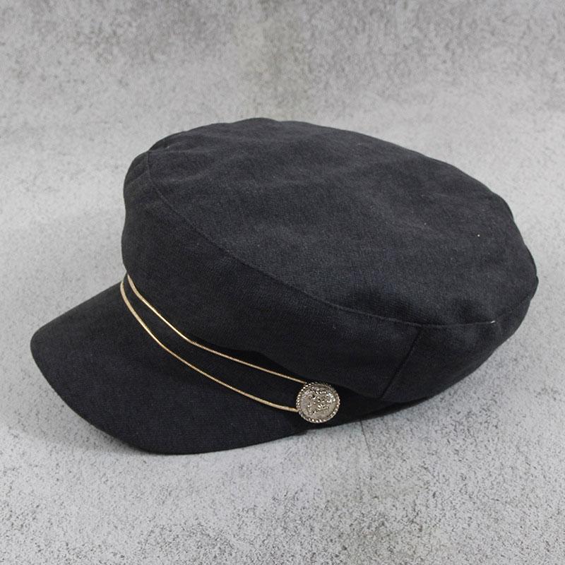 mũ baker boy cabbie đen