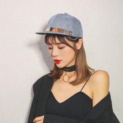 mũ snapback nữ crafts jeans