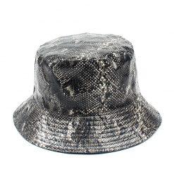 mũ tai bèo bucket Snakeskin