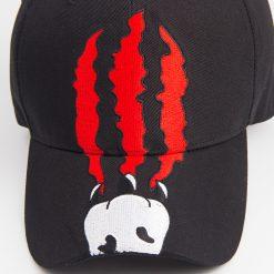 mũ lưỡi trai đen Devil's Claws nam nữ