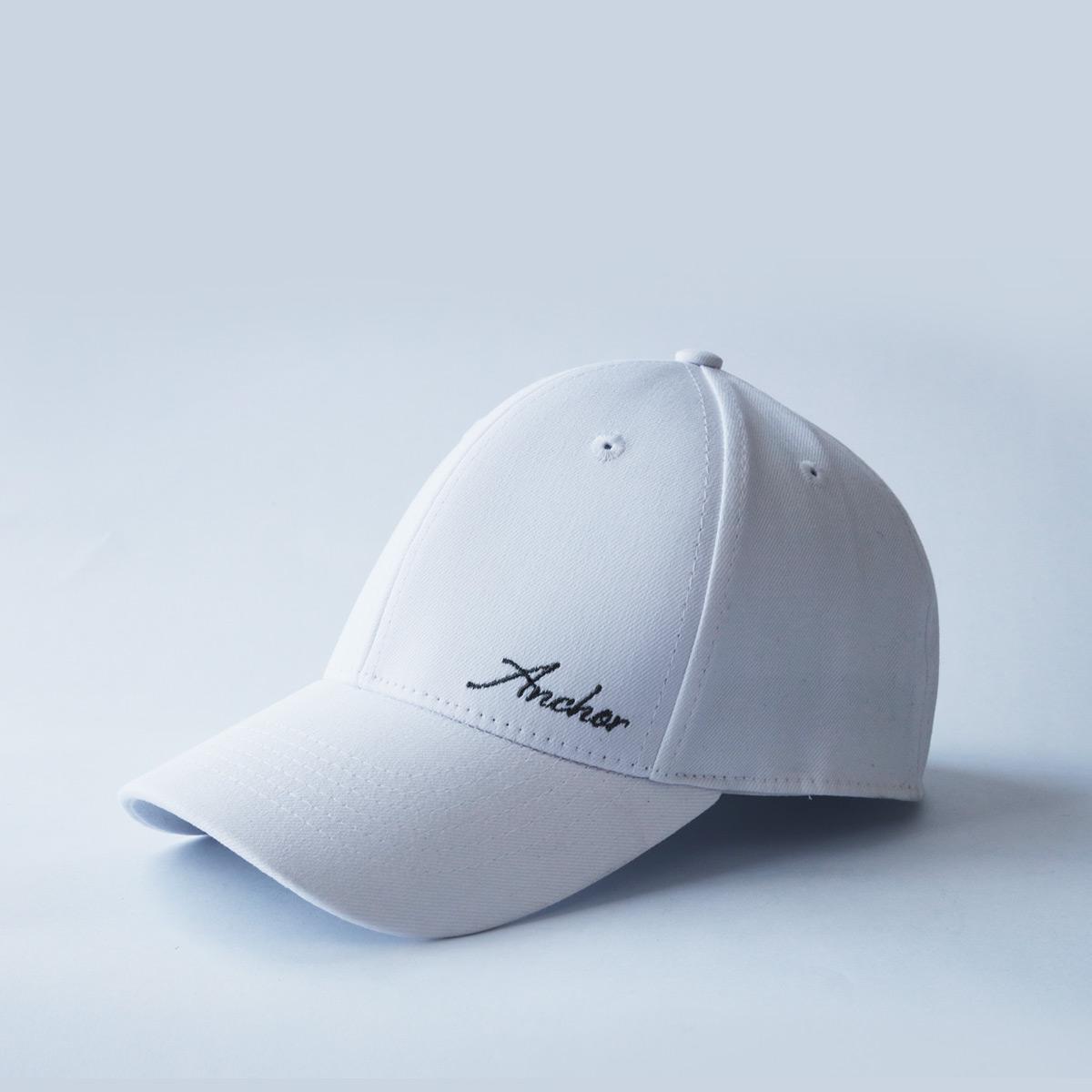 mũ lưỡi trai nam nữ đẹp anchor and helm trắng