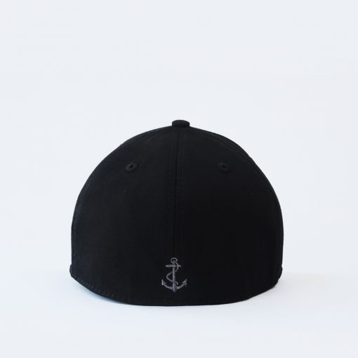mũ lưỡi trai đen nam nữ đẹp bít đuôi anchor and helm bít đuôi
