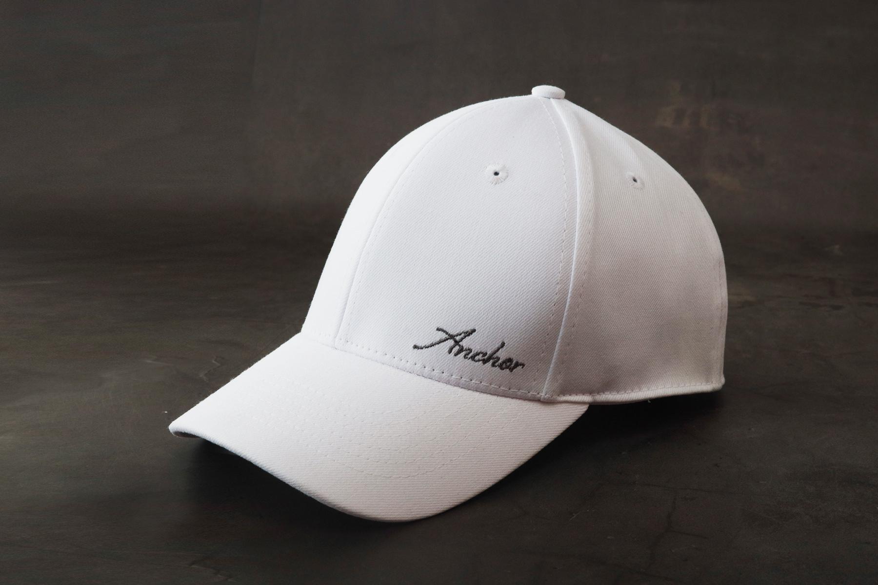 mũ lưỡi trai trắng chính hãng anchor and helm