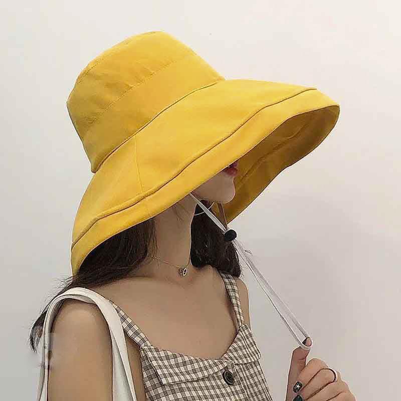 mũ tai bèo rộng vành nữ đẹp pavilion vàng
