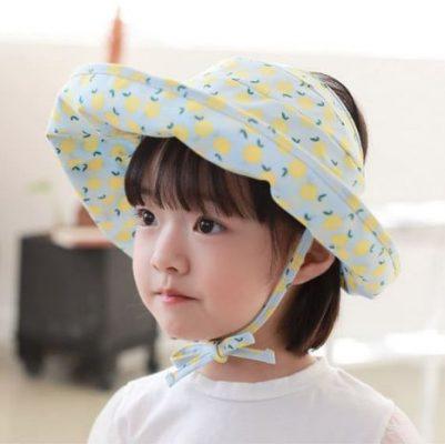 mũ rộng vành cho bé