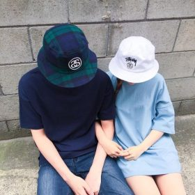 kiểu mũ bucket nữ phong cách đơn giản