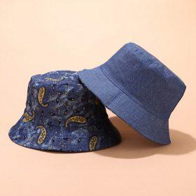 kiểu mũ bucket xanh hạo tiết a