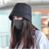 mũ bucket đen chống dịch