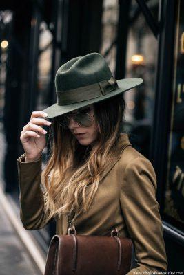 mũ fedora thời thượng cho nữ