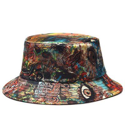 mũ bucket họa tiết nhiều màu