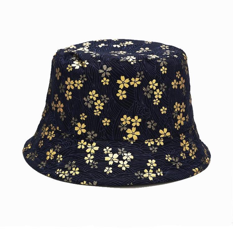 mũ nón bucket hoa vàng